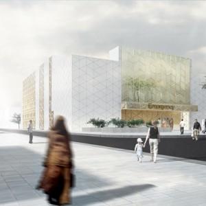 Hospital architecture-New Sulibikhat Center