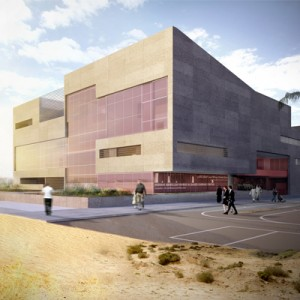 healthcare architecture - Kuwait Cardiac Research and Rehabilitation Center