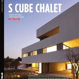 S Cube Chalet Middle East Architect