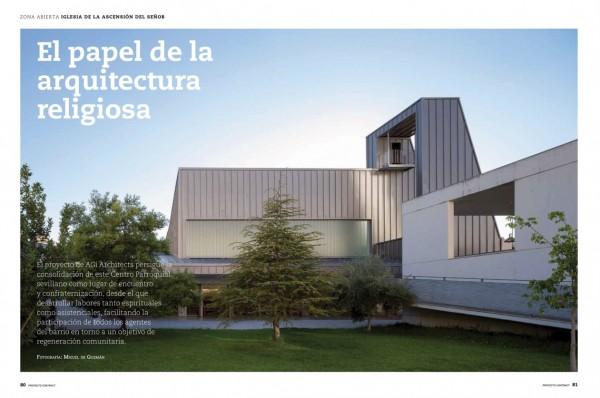 Reportaje Iglesia de la Ascensión del Señor Proyecto Contract