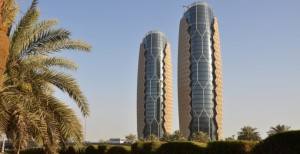 fachadas dinamicas en las AL Bahar Towers