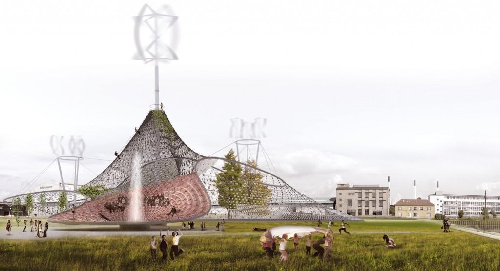 renewable energies in public spaces