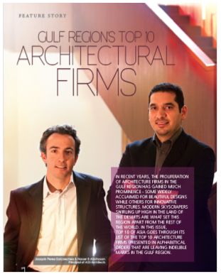 top architectural firm mena